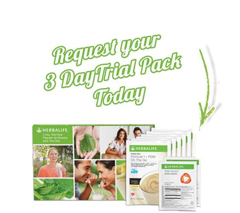Herbalife 3 Day Trial